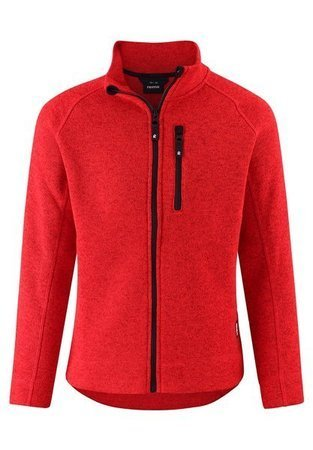 Reima Fleece sweater Micoua Tomato red