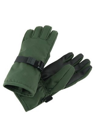 Reima Reimatec gloves Tartu Dark green