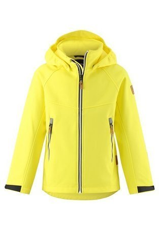 Reima Softshell jacket Vild Lemon yellow
