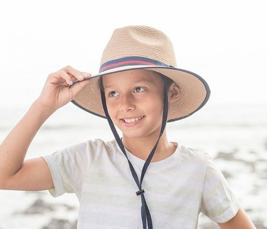 78df68d11ba UV Hat Sunday Afternoons Kid s Grasshopper Hat Tan