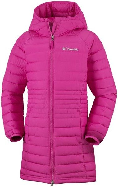 Columbia Powder Lite™ Girls Mid Jacket Cactus Pink Click to zoom ... 5282b8e89714