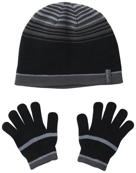 Columbia Youth Hat and Glove Set™ Black Click to zoom ... 955d63fab4c9