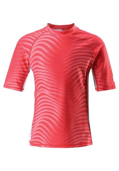 26e28170 Swim shirt, Fiji Bright red 3342 | UV PROTECTION \ UV shirts