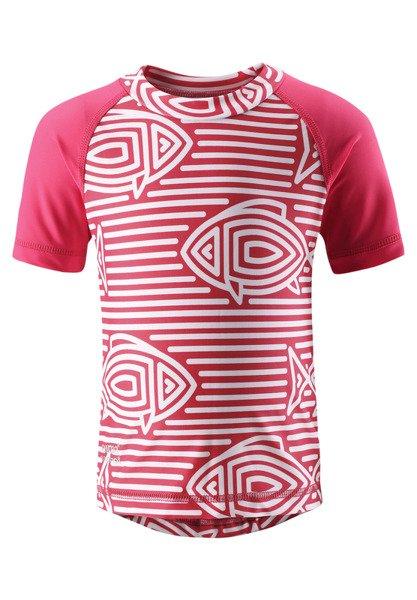 c19a207f2 Swim shirt Reima Azores Strawberry red | REIMA OUTLET UV PROTECTION ...