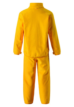 Fleece set Reima Etamin Dark yellow