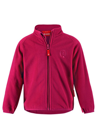 Fleece sweater Reima Cory Cranberry pink