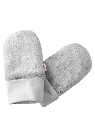 Mittens (knitted) Reima Beantu Light grey