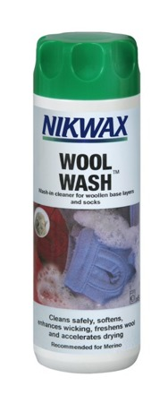 NIKWAX Wool Wash 300ml bottle