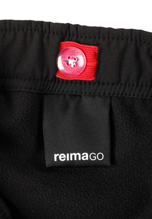 Reima Softshell pants Oikotie Black
