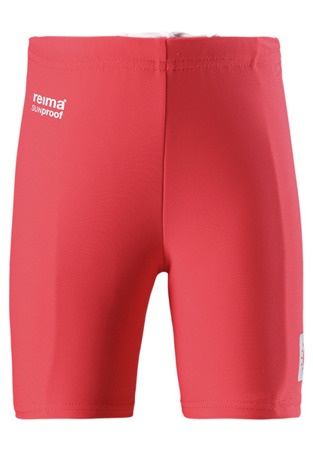 Swimming trunks, Hawaii Bright red