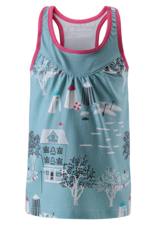Top Reima Kryssning Light sky blue
