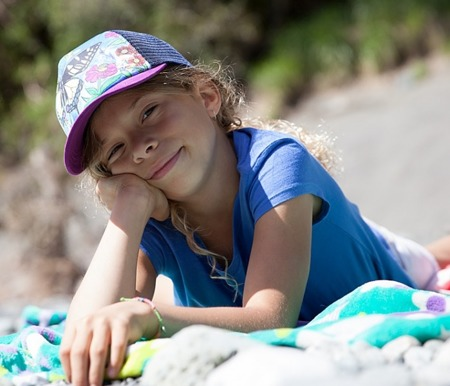 UV Cap Sunday Afternoons Kid's Northwest Trucker Cap Swallowtail