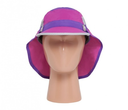 UV Cap Sunday Afternoons Kid's Sun Chaser Cap 2in1 Wild Flower