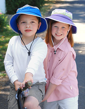 f8663607df017 UV Hat Sunday Afternoons Kid s Fun Bucket Pink Fossil różowy wzór ...