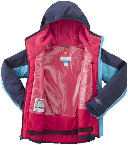 0cf151bf057f3 ... Kurtka narciarska zimowa Columbia Wild Child turkus Kliknij, aby  powiększyć ...