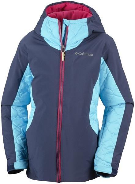 28d72c90d2137 Kurtka narciarska zimowa Columbia Wild Child turkus Kliknij, aby powiększyć  ...