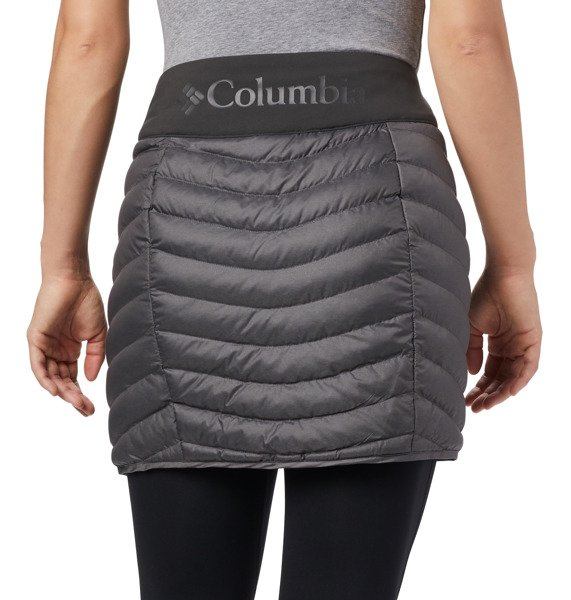 Zimowa spódnica COLUMBIA Windgates szary