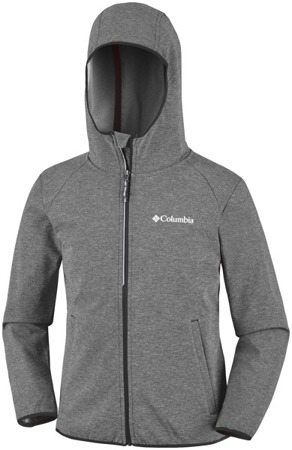 Bluza kurtka softshell Columbia Heather Canyon szary melanż